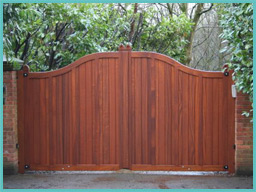 Electric Gates Direct Residential Wooden Gates